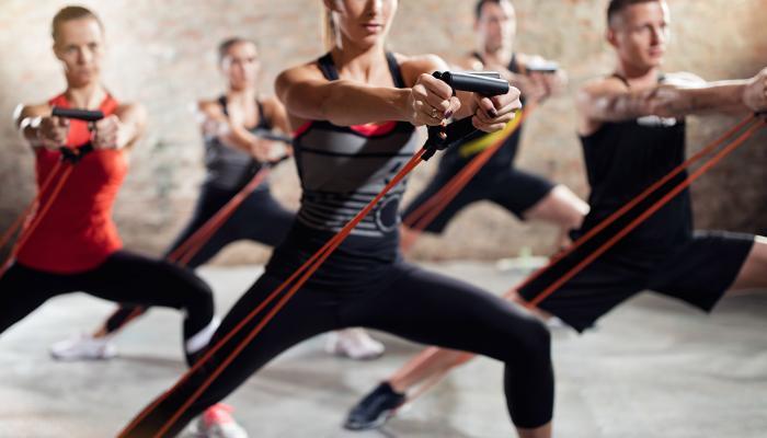Аеробика тренировки в Pulse Fitness & SPA
