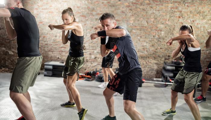 Box/Kick Box trainings at Pulse Fitness & SPA