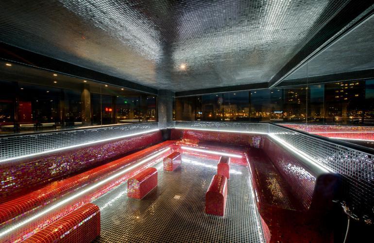 Панорамна скай арома парна баня
