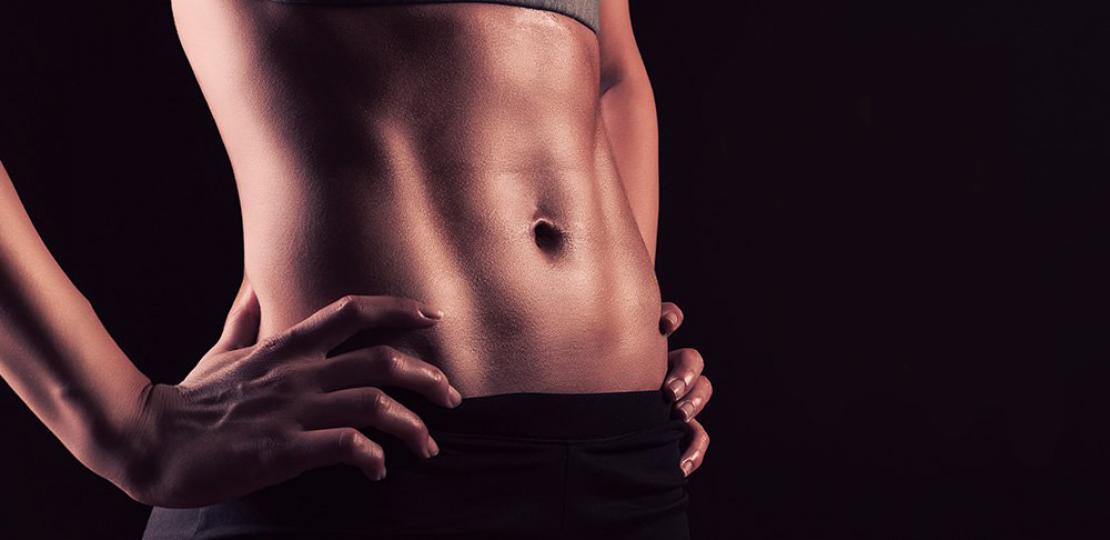 5 упражнения за стегнат корем