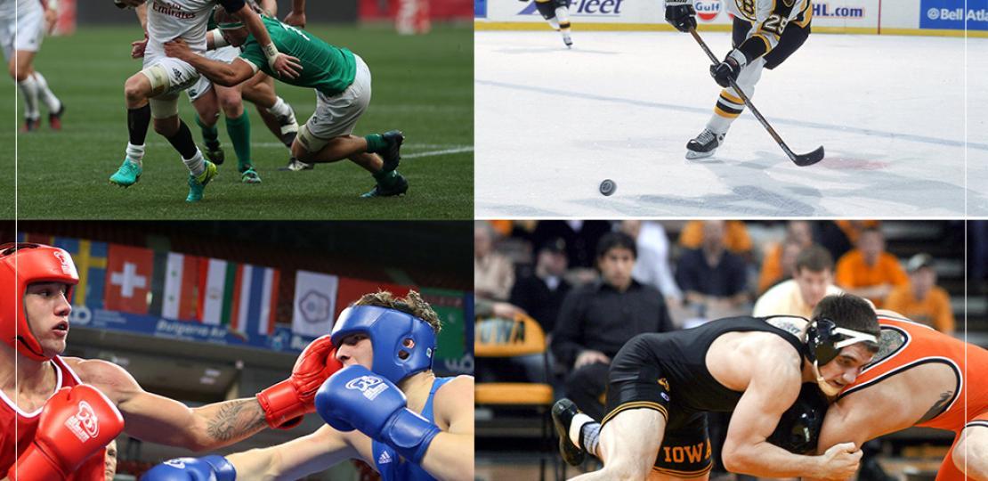 Кои са контактните спортове, с които да градим мускулна маса?