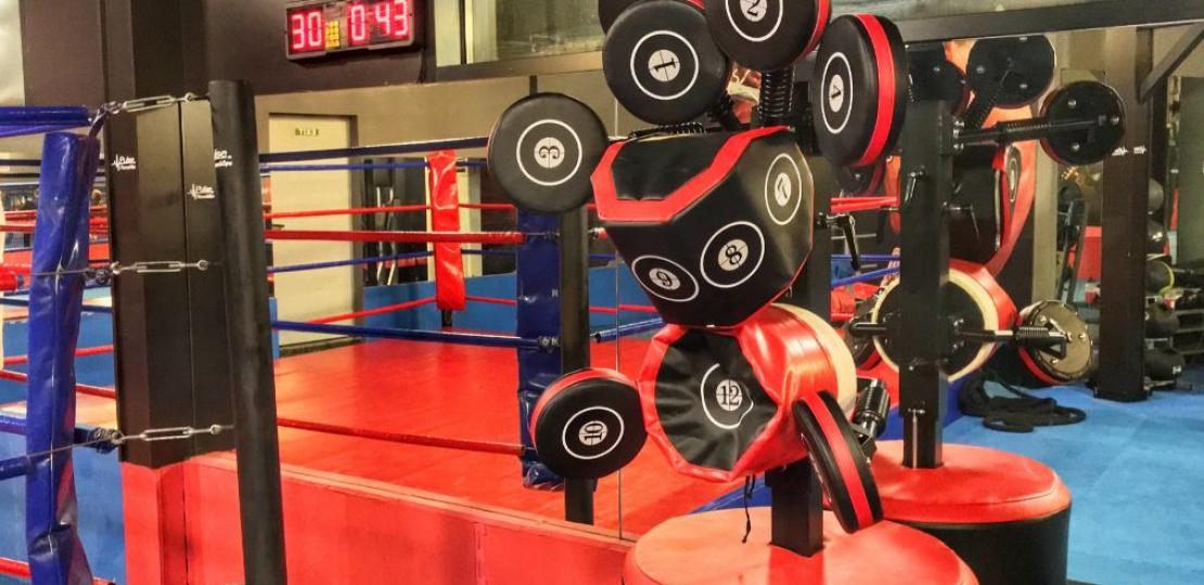 Иновативен боксов тренажор на разположение на клиентите на Pulse Fitness & Spa