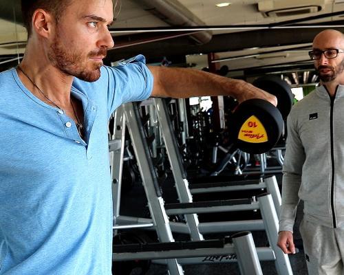 """Актьорът Ники Илиев започна усилени тренировки за новия си филм в """"Pulse Fitness&Spa Bulgaria"""""""